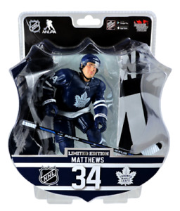 "2017 PSA NHL AUSTON MATTHEWS 6"" Hockey Figure Maple Leafs ROOKIE"