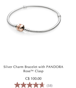 PANDORA BRACELET AND CHARMS FOR SALE