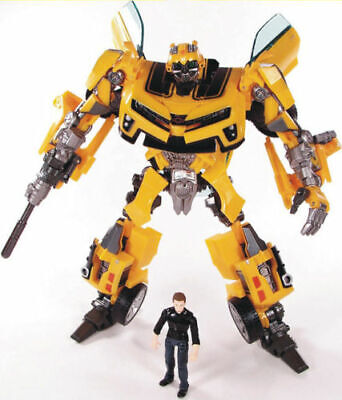 20CM Transformer Bubble Bee Human Alliance With Sam 7CM Robot Car Action Figure](Transformers Bubble Bee)