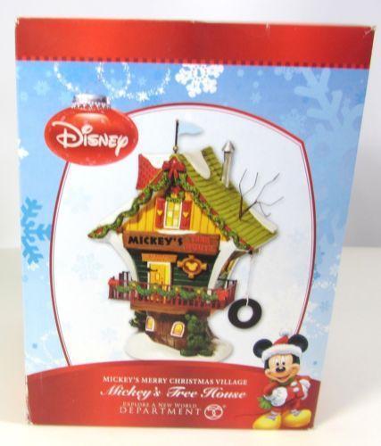 Disney Christmas Village Dept 56