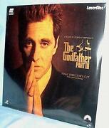 Godfather Laserdisc