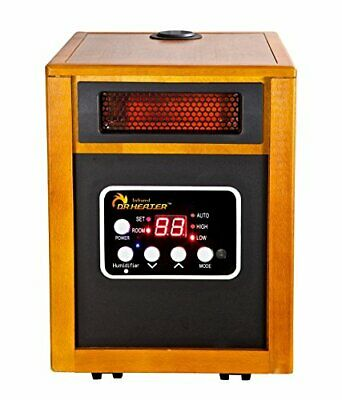 Dr. Infrared Heater 1500-Watt Portable Space Heater Built-In