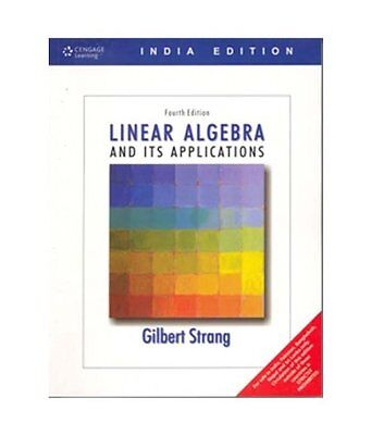 Linear Algebra and Its Applications by Gilbert