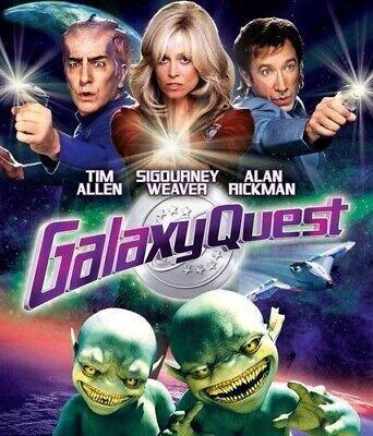 GALAXYQUEST New Sealed Blu-ray Galaxy Quest Tim Allen Sigourney Weaver