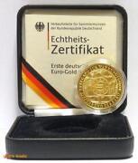 100 Euro Goldmünze Währungsunion