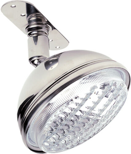 55 Watt Stainless Steel Adjustable Halogen Spreader Light for Boats