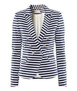 H&M Striped Blazer