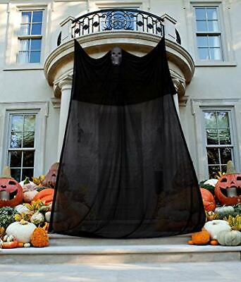 13.4Ft Halloween Inflatable Ghosts Spider Archway Outdoor Party Yard Decoration