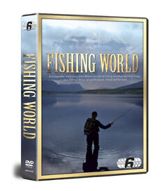 Fishing World With John Wilson & Paul Young 6 DVD SET,brand new sealed