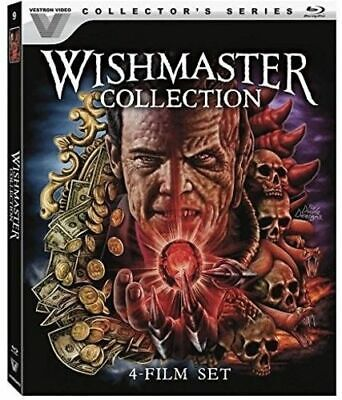 New! Wishmaster Collection 4 Film Set Blu-ray w/Slipcover Collector's Edition