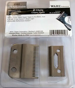 wahl magic clip clipper blade genuine wahl ebay. Black Bedroom Furniture Sets. Home Design Ideas