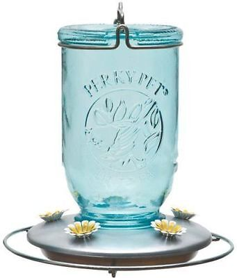 NEW WOODSTREAM 785 GLASS MASON JAR 32OZ HUMMINGBIRD BIRD FEEDER SALE 9610718