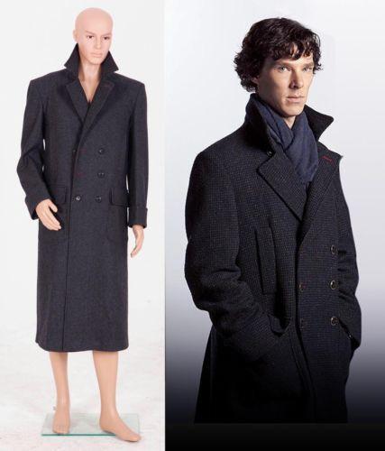 sherlock coat ebay. Black Bedroom Furniture Sets. Home Design Ideas