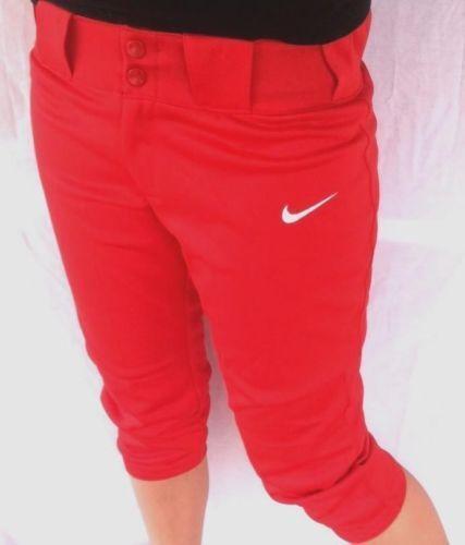 Red Softball Pants   eBay
