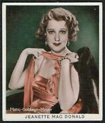 Cinema Stars Cigarette Cards