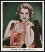 Cinema Stars Cigarette Cards