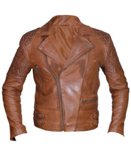 Brand New Custom Tailored Mens Leather Jacket