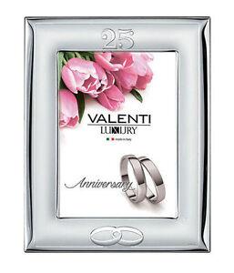 Cornice-Valenti-Nozze-D-039-Argento-25-Anniversario-Matrimonio-52008-4L-Specchio