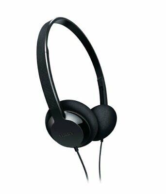 Philips SHL1000/28 Lightweight Headphones (Black)