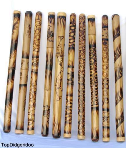 """47""""/120cm DIDGERIDOO ROASTED BURNS NATIVE HANDWORK didje,dijeridu,didgeridu,dig"""