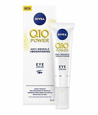 Nivea Q10 Power Bright Eye Cream, Anti-Wrinkle + Brightening 15 ml