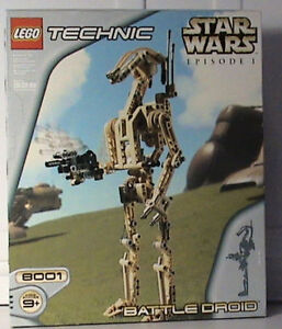 Lego Stars Wars droids Episode I and II