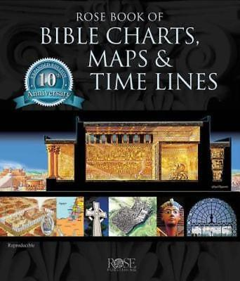 Rose Book of Bible Charts, Maps, and Time Lines: Full-Color Bible Charts,: New - Bible Time Line