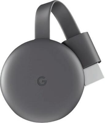 Google Chromecast 3ªgeneración Negro Nuevo