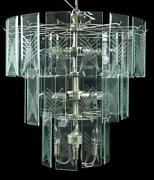 replacement chandelier glass panels  chandeliers design, Lighting ideas