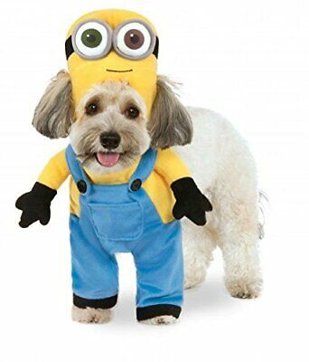 Walking Minion Dog Costume - MEDIUM - Plush Arms - Halloween - Rubie's - NWT - Minion Costume Halloween