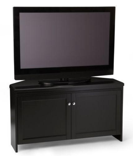 Black Corner TV Stand  eBay