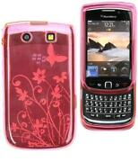 Blackberry Torch 9800 Floral Case