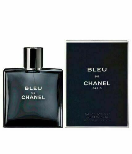 BLEU DE CHANEL Mens Pour Homme Eau De Toilette 34 oz NewSealed