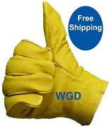 Pigskin Work Gloves