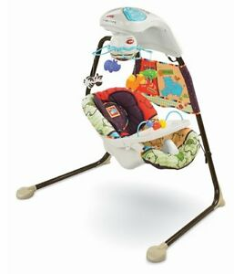 Fisher Price swing & cradle Luv U Zoo