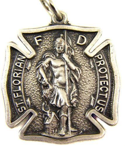 Saint Florian Medal Ebay