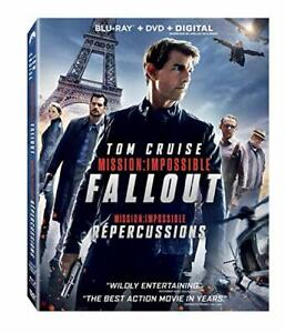 MISSION IMPOSSIBLE FALLOUT BLURAY DVD COMBO BRASND NEW