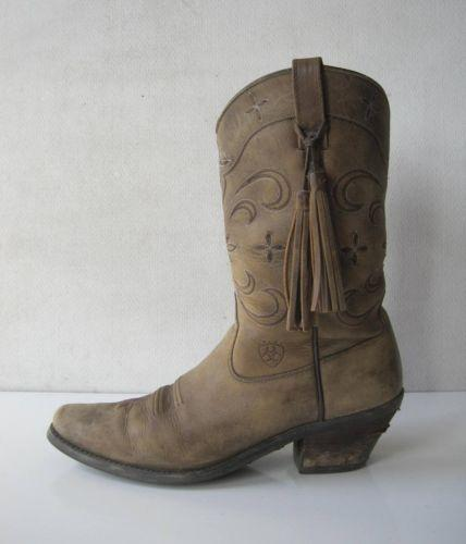 womens cowboy boots size 11 used ebay