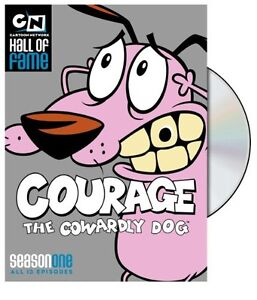 Courage the Cowardly Dog: Season One (2010, REGION 1 DVD New)
