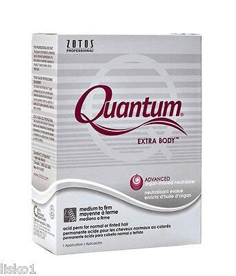 Quantum Zotos Extra Body Hair acid perm for normal or tinted Hair, 1-app
