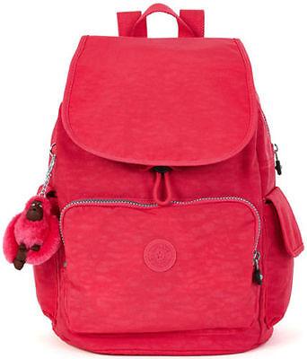 NWT Kipling Ravier Backpack Vibrant Pink Kipling Bag