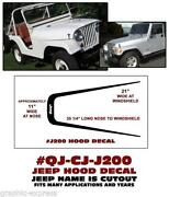 Jeep CJ7 Decals