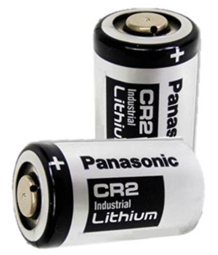 Panasonic CR2 Industrial Lithium Battery DL-CR2 Photo EXP 2028 2 Batteries