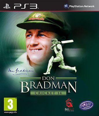 PS3 Don Bradman Cricket 14 2014 Spiel für Sony Playstation 3 NEUWARE