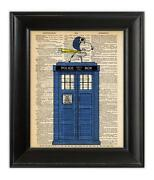 Doctor Who Tardis Signed