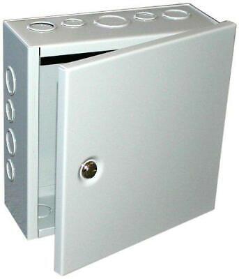 Bud Industries Jb-3944-ko Steel Nema 1 Sheet Metal Junction Box With Knockout