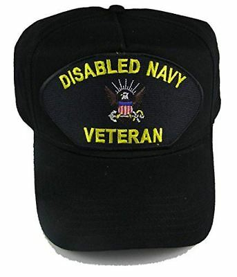 DISABLED NAVY VETERAN HAT CAP SAILOR SHIP SUBMARINE WOUNDED WARRIOR USN