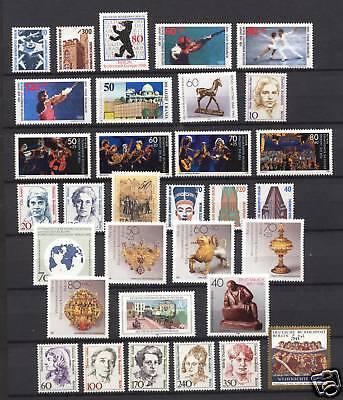 Berlin Jahrgang 1988  Komplett Postfrisch