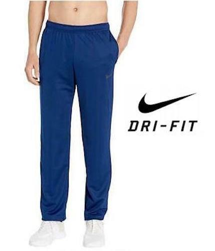 Nike Dri-FIT Men's Woven Training Pants AJ3373 Royal Blue size Medium Large  XL
