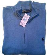 Mens Half Zip Jumper